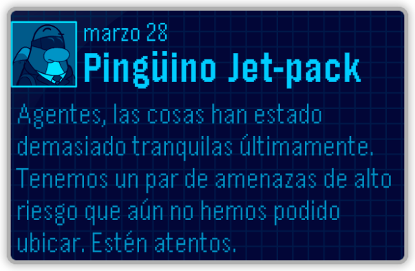 ¡Mensaje de Jet-Pack!