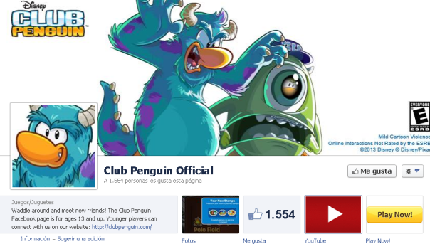 facebook club penguin