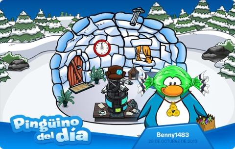 Pingüino del Día: Benny1483
