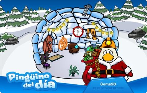 Pingüino del Día: Come20