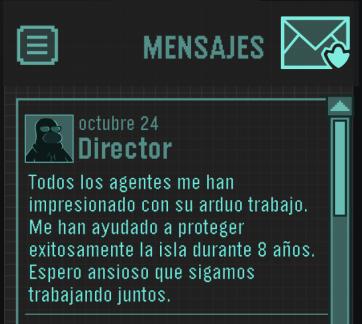 ¡Mensaje del Director! octubre 2013