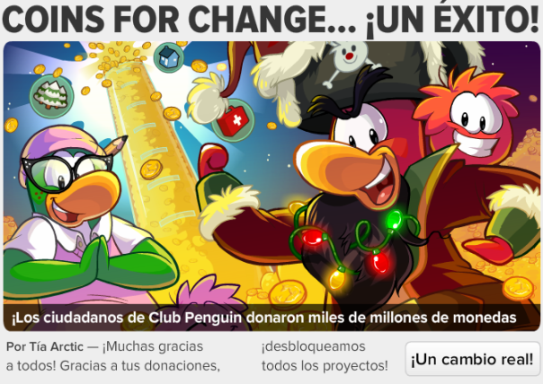 edicion #428 coins for change un exito