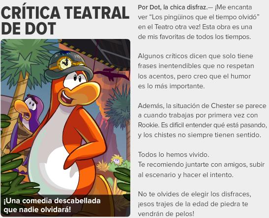 edicion #430 enero 2014 critica teatral de dot