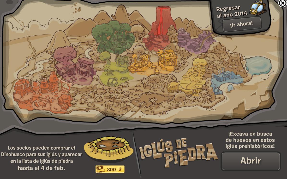 mapa prehistorico