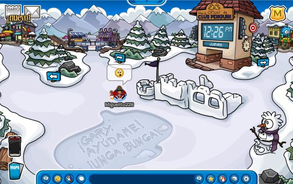 mensaje en el fuerte nevado ayuda gary 1