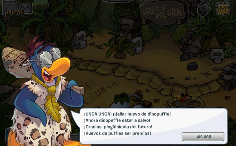 obtener el dinopuffle azul viaje a la prehistoria 2014 2